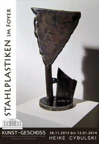 Asstellung von Heike Cybulski